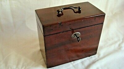 Victorian Apothecary/Chemists box,complete with bottles