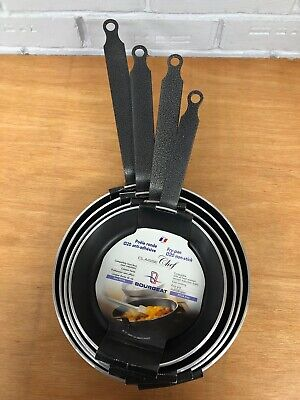 Bourgeat Non Stick Frying Pans 20, 22, 24 and 26cm