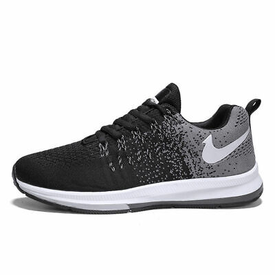 Men's Flywire Casual Shoes Flyknit Fashion Sports Sneakers Gym Athletic Jogging