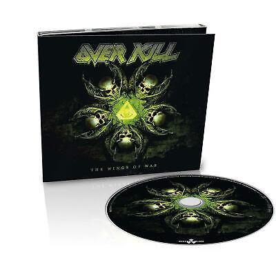 OVERKILL 'THE WINGS OF WAR' Ltd Edition Digipack CD (2019) NEW
