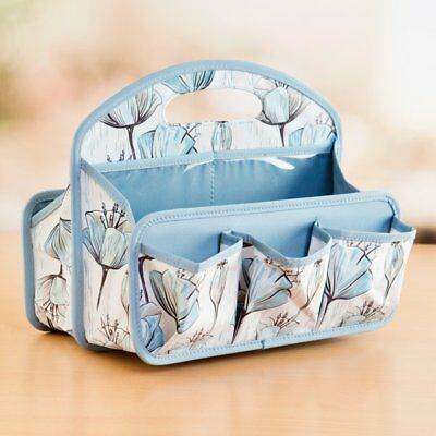 Everything Mary Duck Egg Blue Organizer With Built in Handles