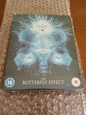 THE BUTTERFLY EFFECT STEELBOOK [RARE/OOP/NEW/Blu-ray] Zavvi Exclusive / Region B