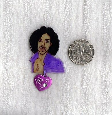 PRINCE Image PIN 11 ~ Created by Prince Rogers Nelson fan ~ New Unique Jewelry