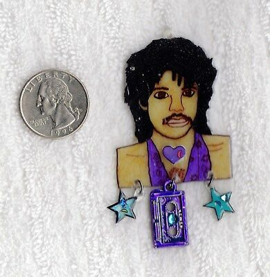 PRINCE Image Necklace ~ Created by Prince Rogers Nelson fan ~ Pendant ~ Jewelry