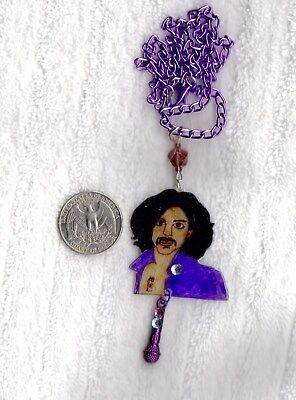 PRINCE Image Necklace ~ Created by Prince Rogers Nelson fan ~ New Unique Jewelry