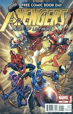 Free Comic Book Day 2012 Avengers Age Of Ultron #1 Wolverine No Stamp FCBD NM/M