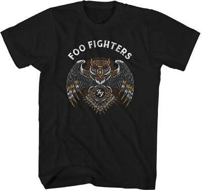 FOO FIGHTERS - Owl - T SHIRT S-M-L-XL-2XL New Official Live Nation Merchandise