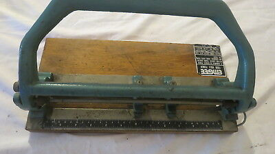 EMGEE GS 5 VINTAGE HEAVY DUTY OLD DESK 4 HOLE PUNCH office Retro