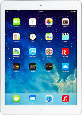 Apple iPad Air 1st Gen. 16GB, Wi-Fi, 9.7in - Silver excellent condition