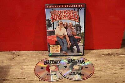 The Dukes of Hazzard Two Movie Collection (Reunion / Hazzard in Hollywood) DVD