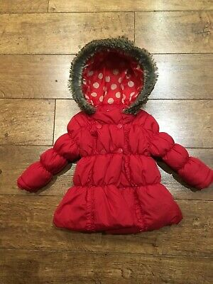 Girls Coat, Monoti, Age 6-12 Months