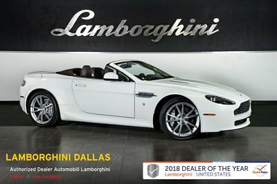 2010 Aston Martin Vantage  NAV+HOMELINK+PWR HEATED SEATS+SILVER SPRT WHLS+SELF DIMMING MIRRORS