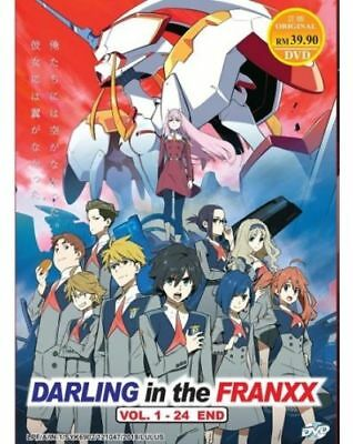 Darling In The Franxx Anime DVD (Vol.1-24 end) with English Dubbed