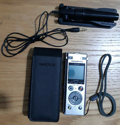 Olympus dm-770 Digital Voice Recorder with case and mic - Mint condition