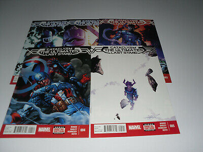Cataclysm : The Ultimates Last Stand 1-5 Full Set  -  REF 1192