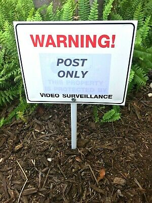 XFINITY HOME SECURITY Yard Sign Without Stake Free Shipping