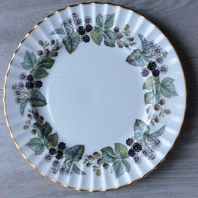 "4 Royal Worcester ""LAVINIA""  Dinner Plates 10.5 White Ground"
