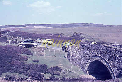 35mm colour slide - PONT YR ALWEN - B4501 nr Alwen Reservoir/Denbigh Rd. June 63