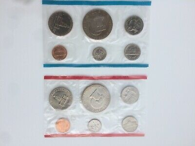 1976 P & D United States Mint Uncirculated Coin Set