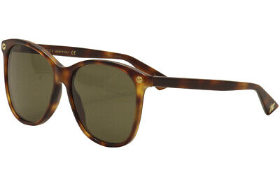 fdb2cf64c7 Gucci Women s GG0024S GG 0024 S 002 Havana Gold Fashion Sunglasses 58mm