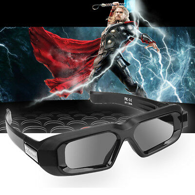 USB Rechargeable Active 3D Glasses Bluetooth 1080p for Samsung/Panasonic 3D TV's