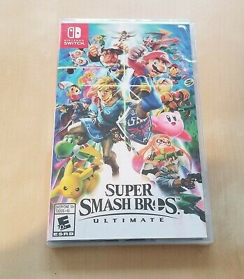 Super Smash Bros. Ultimate Nintendo Switch Brand New
