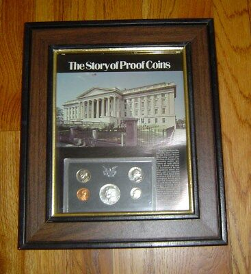 The Story Of Proof Coins Glass Frame