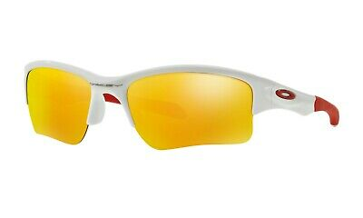 4e936d1c00f New Oakley Quarter Jacket Oo 9200 03 Sunglasses Polished White - Youth Fit