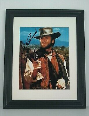 Clint Eastwood Signed Autographed Photo 8x10 Authentic W/COA Outlaw Josey Wales