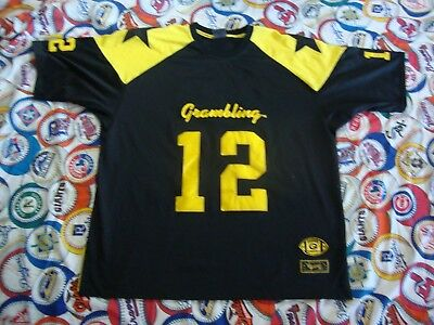 new arrival 6dd7a af514 GRAMBLING TIGERS COLOSSEUM Football Throwback Jersey Men's 4XL