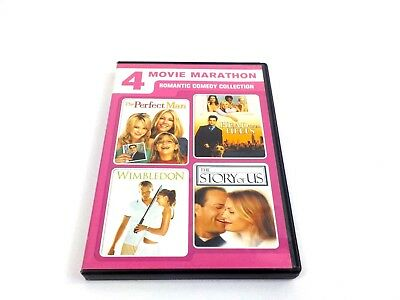 Romantic Comedy Collection Willis Pfeiffer Dunst Locklear DVD Movies 4 in 1
