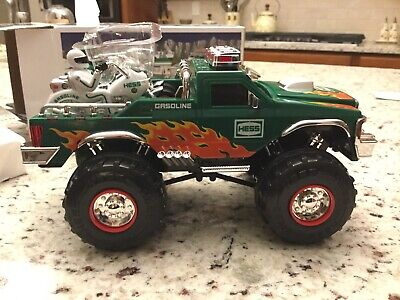 2007 Hess Monster Truck 4x4 w/ 2 Motorcycles  New