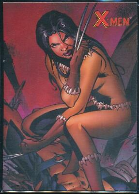 2009 X-Men Archives Trading Card #72 X-23