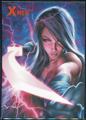 2009 X-Men Archives Trading Card #51 Psylocke