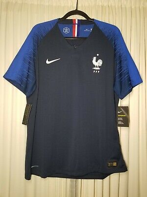 c6ef39766c4 Nike France Authentic Match World Cup Jersey 2018 Vaporknit XL SLlM FIT  165