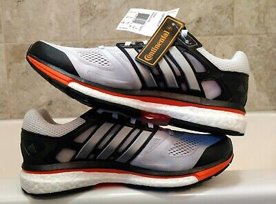29c53b80a Adidas Supernova Glide 6 M Boost Men black orange white size 9.5 BNWT DS