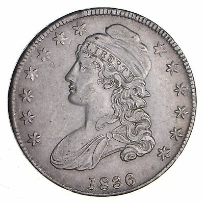 1836 Capped Bust Half Dollar - Near Uncirculated *1288