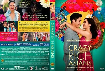 Crazy Rich Asians(2018) DVD FAST SHIPPING!!! READ DESCRIPTION
