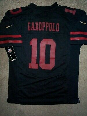cf1cf853f4b  IRREGULAR  San Francisco 49ers JIMMY GAROPPOLO nfl NIKE Jersey Youth (L- LARGE