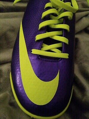 f7e9882f4d0e Nike Mercurial Victory IV TF turf indoor Soccer Cleats new shoes 555615 570
