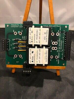 New RUSSELECTRIC Voltage Attenuator Board E-PAC-07 94v0 Pulse Lo-Profile