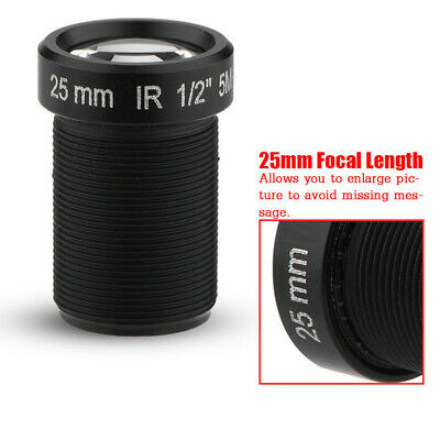 5MP IR Night Vision Fixed Lens For M12x0.5 CCTV HD IP Camera For SJCAM/Gopro