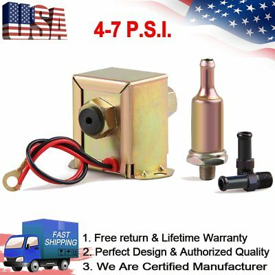12V Diesel Electronic Fuel Pump EP12S For Ford Buick Cadillac Oldsmobile 4.1L V6