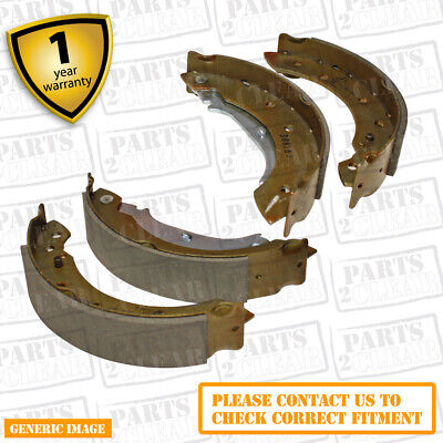 Saab 9-3 2.0 T Saloon BioPower 194bhp Rear Brake Shoes For Brake Drums 160mm