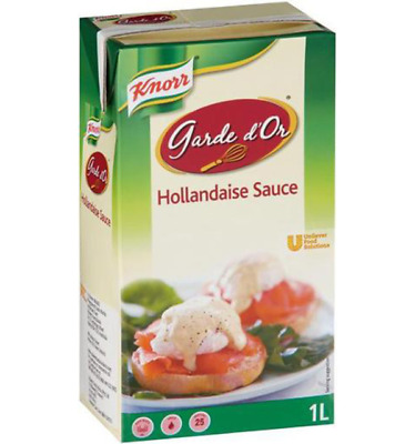 Knorr Hollandaise Sauce 1 Litre - 26/11/2019 Best Before + Free Post