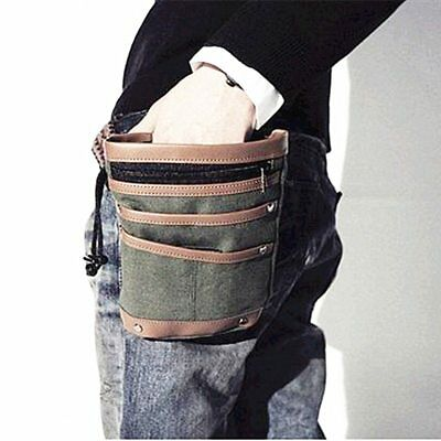 Metal Detecting Finds Pouch Waist Hook Pockets Metal Accessory Detector Bag