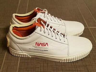 fc6e2f2900 Vans x NASA Old Skool True White Space Voyager Collab Shoes All NEW RARE