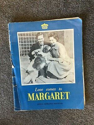 Love Comes To Margaret - Royal Romance Souvenir February 26 - May 6, 1960