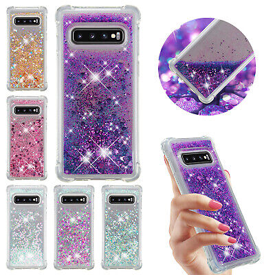 For Samsung Galaxy S10 Plus S10e S10 Case Glitter Quicksand TPU Shockproof Cover