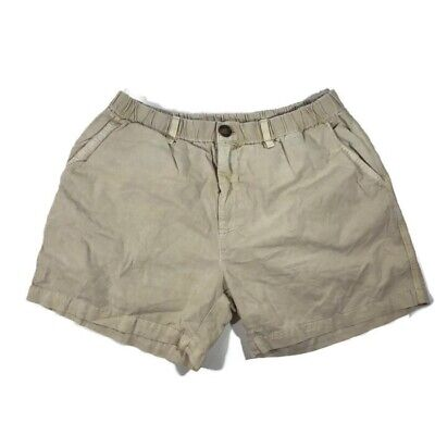 "bbc7ee92d Chubbies Mens Shorts Size Large Khaki Elastic Waist 5"" Inseam New"